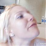 Blonde Amateur Teen Vanessa Deep Throats Hard Cock