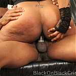 Big Natural Tits Ebony Face Fucked By 11 Inch Black Cock