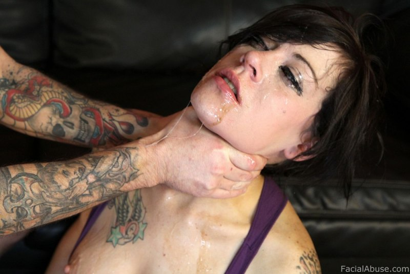 Throat pounders face fucking