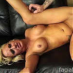 Busty Blonde Zoey Portland Gets Her Throat Stuffed With A Big Cock