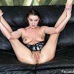 Amateur Slut Jada Belle Does Throat Fuck Puke and Double Penetration