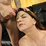 Hazel Allure Gets Her Throat Dominated and Pounded By A Big Hard Cock