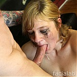 Lots of Tears and Extreme Deepthroat for Amateur Pornstar Ashden
