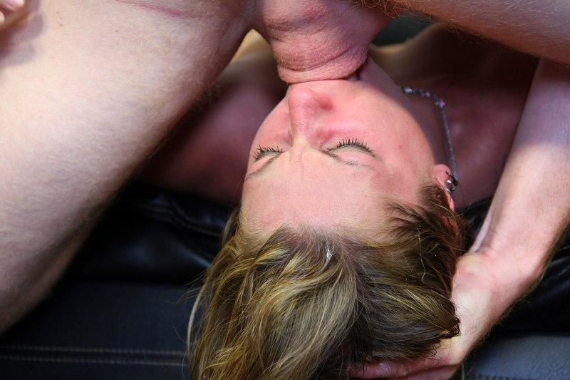 Deepthroat facefuck videos