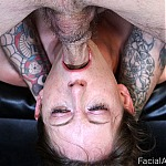 Amateur Face Fuck Makes Slut Gag and Choke Violently