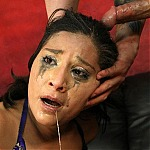 Egyptian Whore Stella Bella Throat Fucked So Hard She Cries!