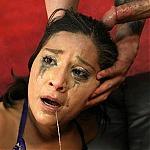 Egyptian Whore Stella Bella Throat Fucked So Hard She Cries!