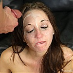 Brunette Amateur Gets Her Face Fucked and Ass Penetrated