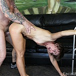 Mature Slut Gets Her Face Fucked Deep and Hard