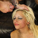 Extreme MILF Deepthroat With Blonde Whore Holly Brooks