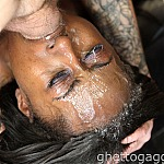 Ebony Deepthroat With Cock Gagging Slut Coko Cabana