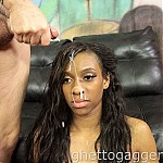 Extreme Interracial Deepthroat With Ebony Whore Fabree