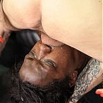 Big Tits Ebony Threesome Face Fuck With Ghetto Whore Kala