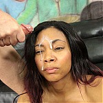 Divine Chase Does Balls Deep Interracial Throat Fuck