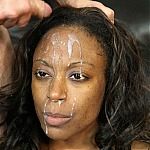 Skinny Ebony Milf Brandi Foxx Gets Her Throat Pounded Deep