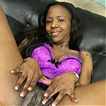 Black Whore Moesha Gets Her Throat Pumped With Two Big White Cocks