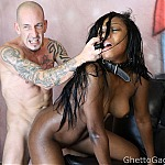 Ebony Slut Mya Hillcrest Face Fucked Into Submission