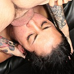 Hot Latina Evey Lavo Does Extreme Deepthroat Gagging