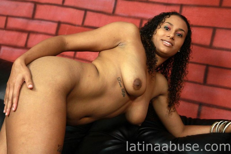 Misty stone solo shaved pussy