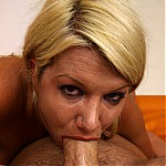 Laela Pryce Gives Awesome Cock Gagging Blowjob