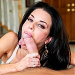 Hot Pornstar Milf Veronica Avluv Gets Her Throat Stuffed With Cock