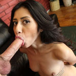 Latina Pornstar Angel Del Rey Is Eager To Deep Throat