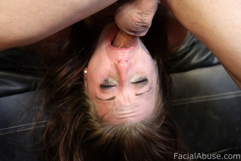Very rough sloppy deepthroat and pov anal fuck dirty ass to mouth 10