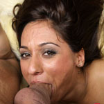 Reena Sky Gets Throat Fucked So Deep and So Hard