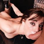 Sexy French Pornstar Shana Lane In Hot Throat Fuck Video