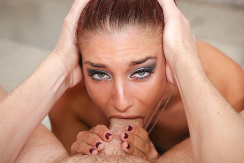 Teen blue eyed pornstar