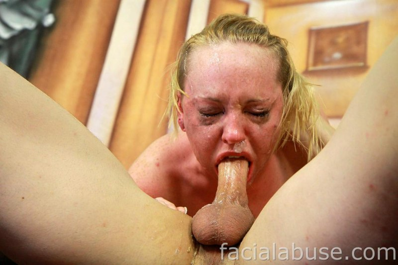 Blonde Emo Teen Caroline Cross Does Extreme Throat Fucking -9790