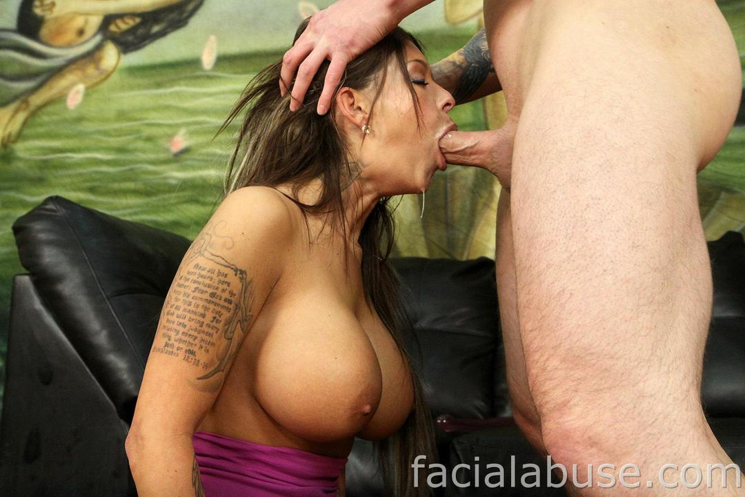 Anna malle interracial deep throat