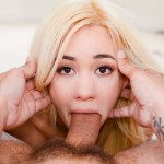 Hot Porn Star Mila Blaze Devours A Big Dick Deep In Her Throat