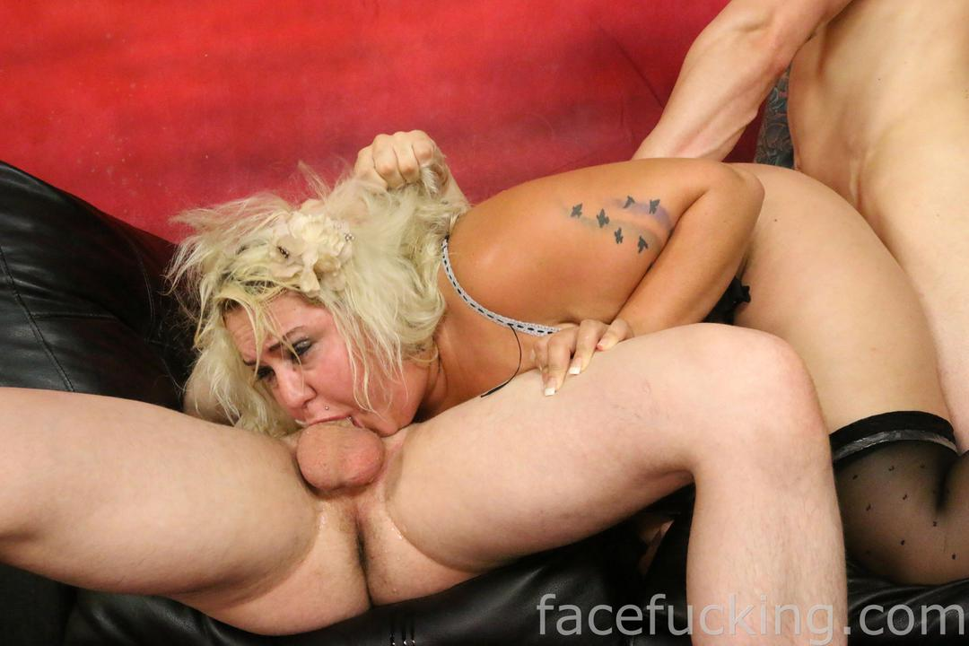 BBW Jade Rose Is Put Through Her Paces In Extreme Deep Throat ...