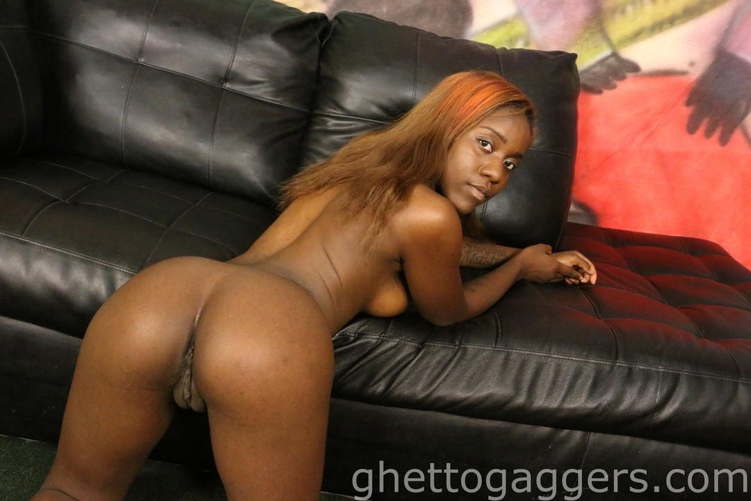 black ghetto teen sluts - Little Bambi Gets Her Face & Throat Penetrated By Two Nasty White Boys