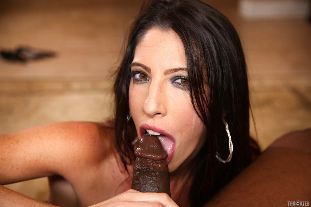 Milf deep throat cum swallow would