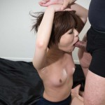 Cute Japanese Girl Meril Imai Gets Her Face Stuffed With Hard Cock