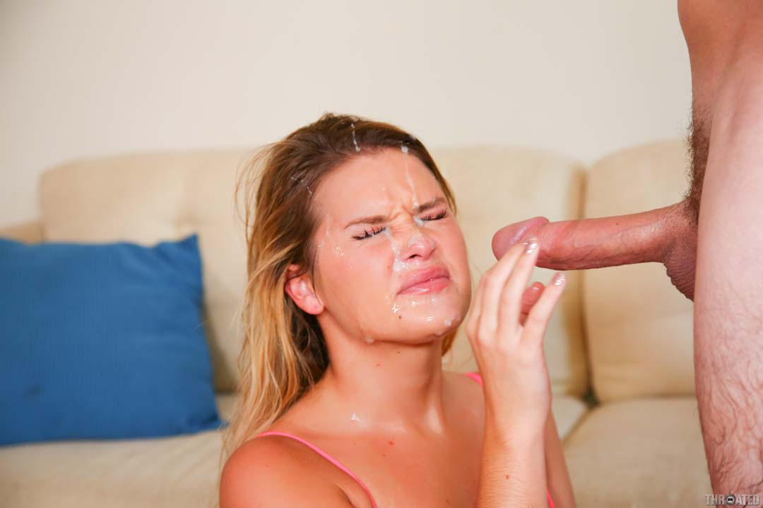 image Cum dripping from her freshly fucked twat
