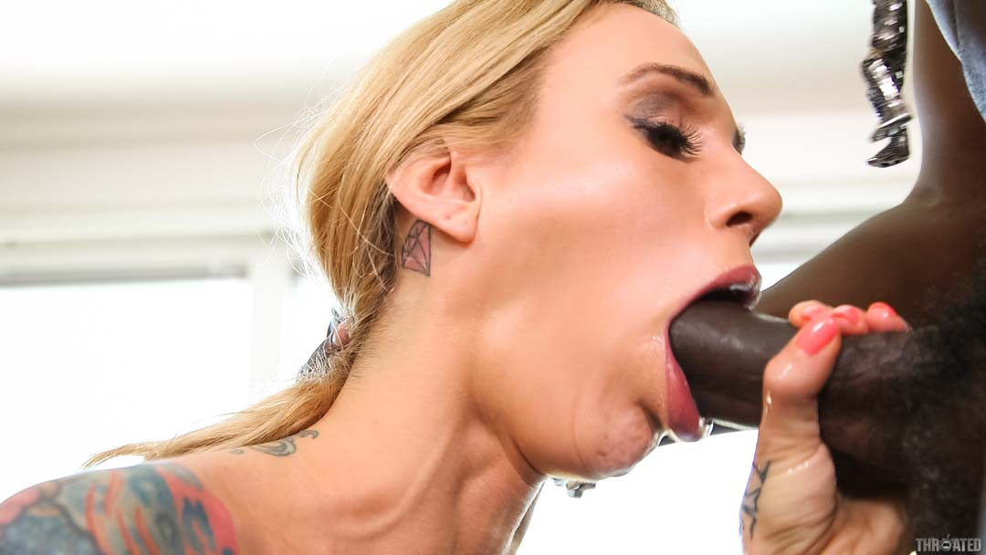 Black Guy Cum White Girl