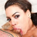 Hot Cuban Porn Star Luna Star Devours A Hard Cock In Her Throat