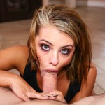 Beautiful Adriana Chechik gives you intense pleasure with her wet lips & tight throat