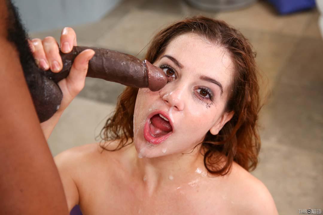 photos of hood ebony girls with cum faces