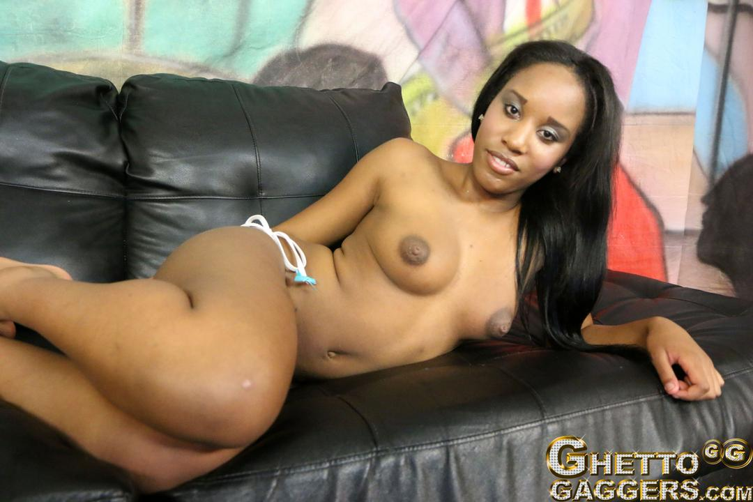 Hot Petite Black Girl Ashley Pink Deep Throat Fucked By -6446