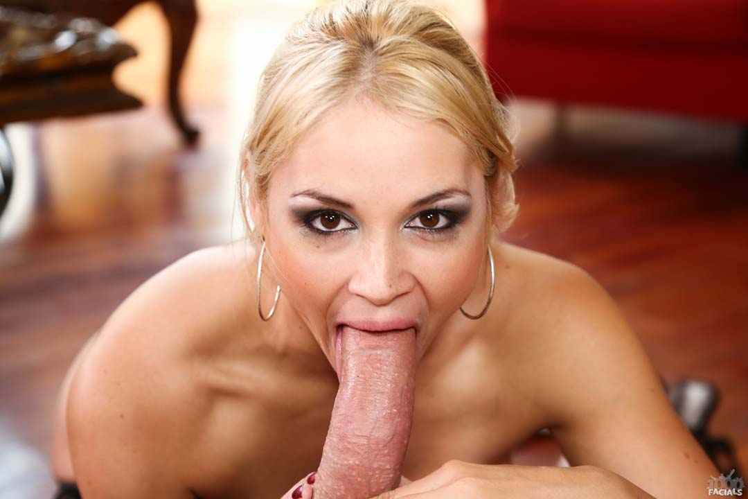 Sarah Vandella Takes Load In Her Mouth