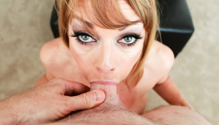 Steaming hot POV deepthroat action with stunning Shayla LaVeaux