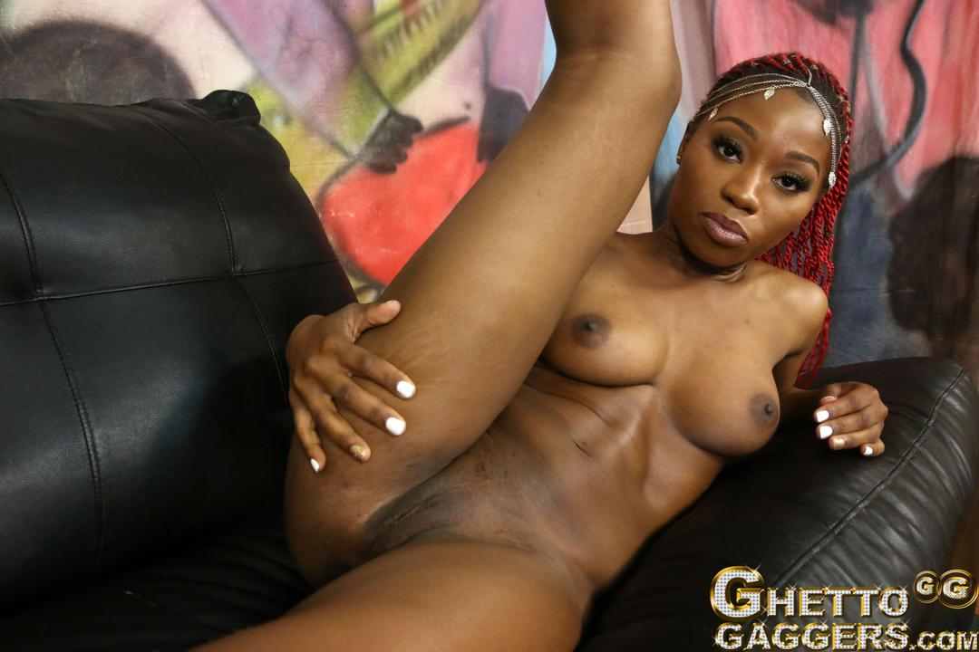 Ebony ghetto fuck