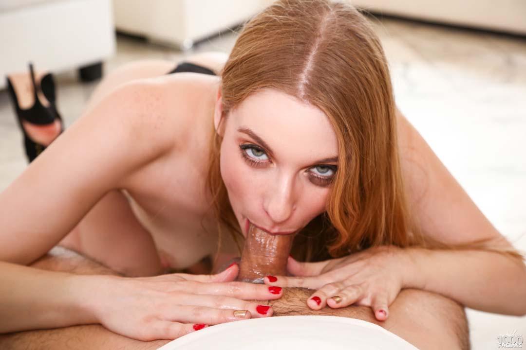 Sexy Ela Darling Sucking Dick For A Messy Facial 1