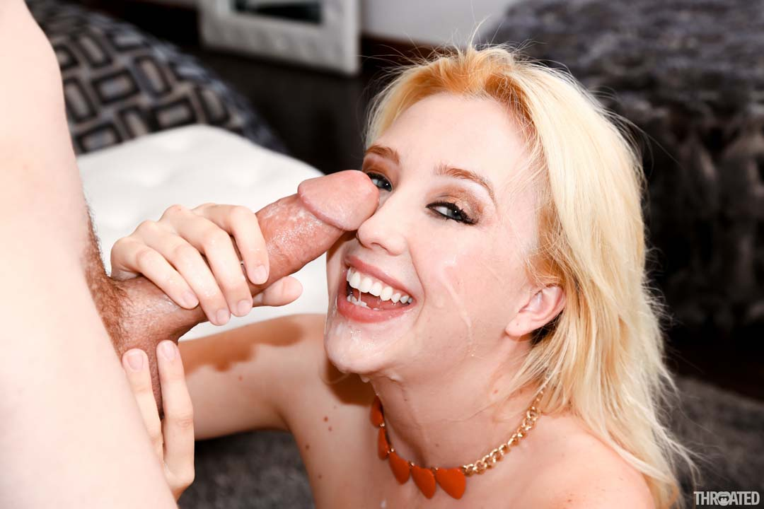 Milf gagging on black cocks blondes