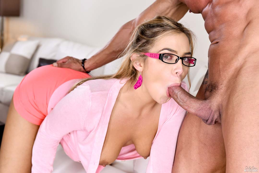 Blair Williams Blowjob
