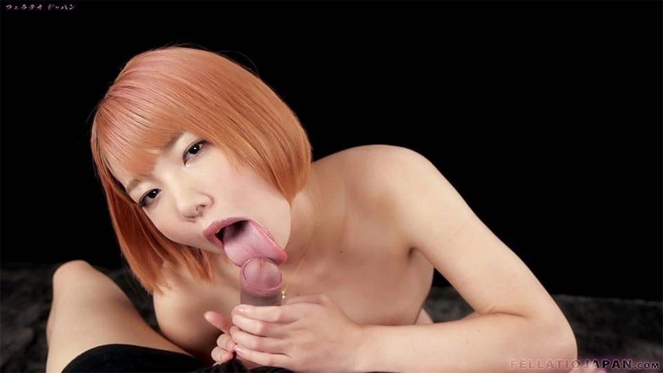 Hot Japanese Girl Chie Kobayashi Sucks A Fat Dick -3894